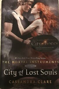 CITY of LOST SOULS hc/dj Cassandra Clare MORTAL INSTRUMENTS