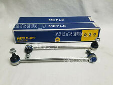 Front Left + Right Front Sway Bar Stabilizer Links Set MEYLE HD for Audi for VW