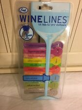 Wine Glass Labels Tags