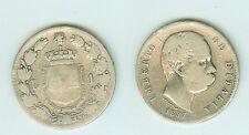 1 LIRA 1887 ITALIA ARGENTO