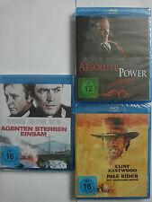Clint Eastwood Sammlung - Agenten sterben einsam - Pale Rider - Absolute Power
