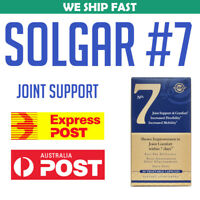 Solgar No 7, 90 capsule Joinit Support Monility Flexibility Pain AU STOCK!