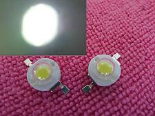 2pc 1 Watt 1W White Super Bright 100 Lumen LED Lamp Flood Light Bulb 3v-12v,WL1