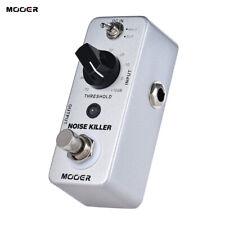 MOOER NOISE KILLER Mini Noise Reduction Guitar Effect Pedal 2 Modes True T5P6