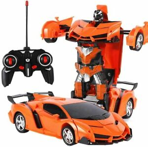 New Transformer RC Robot Car Remote Control 2 IN 1 Kids Boys Toys Xmas Gift Toy