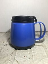 Aladdin Insulated 16 Oz Coffee Thermos Travel  RARE CHUBBY SKID PROOF MUG