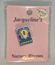 Dollhouse Miniatures Jacqueline's Nursery Rhymes Book