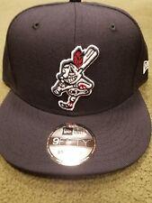 Chief Wahoo Batting Cleveland Indians  New Era snap back adjustable hat