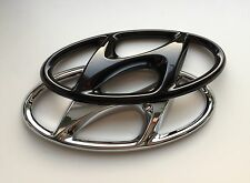 Hyundai Tucson TLE Emblem hochglanz schwarz blacked out Badge Cover gloss black