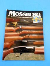 1994 Mossberg Gun Firearms Catalog 75th Anneversary