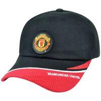 Rhinox Manchester United English Premier League Soccer Hat Cap Clip Buckle Black