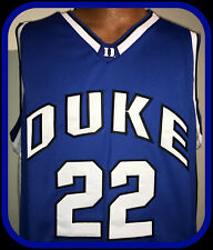 DUKE BLUE DEVILS COLOSSEUM ATHLETIC STITCHED BASKETBALL JERSEY ADULT XLARGE NWT