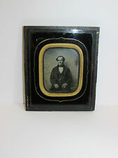 Antique Collectable Framed 19th Century Photograph Of Man
