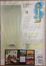 Vintage Euromast - LS Bouwplaten Paper Model from Toywares