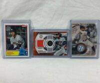 2019 Topps Tribute Triple Relic George Springer 24/25 Stamp Relic 64/150 83AS-7