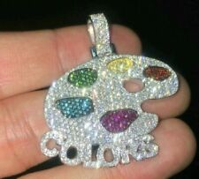 Colors Custom Pendant 925 Sterling Silver Only Pendant