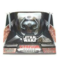 Darth Vader's Tie Advanced H1 Starfighter STAR WARS Titanium Series Die Cast NEW