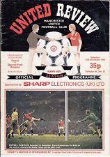 Manchester United V Queens Park Rangers QPR 1984/85 Division 1-OTTOBRE 12th