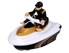 Remote Control RC Micro JET SKI Sit Down MINI RC Boat - Black/Yellow - 27MHZ