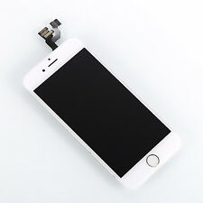 Full Digitizer LCD Assembly Front Camera Gold home button frame for iPhone 6 4.7