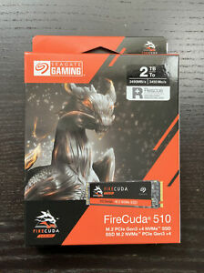 Seagate FireCuda 510 SSD 2 TB NVMe M.2 M2 PCIe PCI Express
