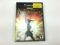 Baldurs Gate Dark Alliance GameCube 2002 Case Inserts Disc Video Game