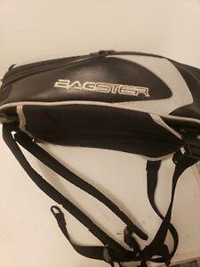 Sacoche de reservoir etanche Bagster cuir noir sac moto