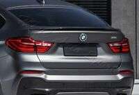For 15-17 BMW X4 F26 Performance Style Real Carbon Fiber Rear Trunk Spoiler