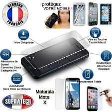 Protection d'Ecran en Verre Trempé Contre les Chocs pour Motorola Moto X