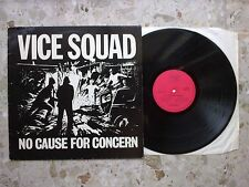 VICE SQUAD - NO CAUSE FOR CONCERN - LP 1981 beki bondage sex pistols VG++/EX kbd
