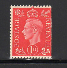 GREAT BRITAIN #236  1937  1p  KING GEORGE VII     MINT  F-VF NH  O.G