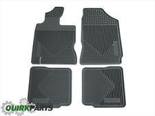 01-10 Chrysler PT Cruiser FRONT & REAR RUBBER SLUSH MATS SET OF 4 OEM NEW MOPAR