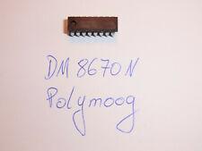 DM 8670 - Special IC for Moog Polymoog - NOS