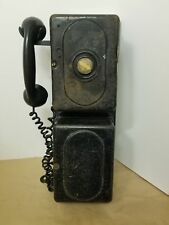 Antique Railroad field/ call box, phone, two way