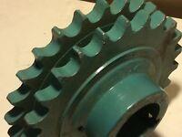 "Roller Chain Sprocket Martin D80B24H  2 3/8"" Bore #394"