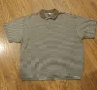 Columbia Sportswear Men's Striped Short Sleeve Polo Shirt Size Extra Large (XL)