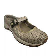 Merrell Encore Mary Jane Mock Mule Cushion Women's Size 8.5 Beige Slip On Shoes