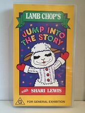 Lamb Chop's Jump Into The Story With Shari Lewis & VHS Video