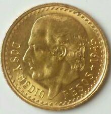 1945 Mexico 2.5 Peso Gold Hidalgo