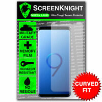 ScreenKnight Samsung Galaxy S9 SCREEN PROTECTOR - CURVED FIT