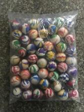 More details for 50 pcs large 45mm jet balls bouncy balls party bag vending mixed colors