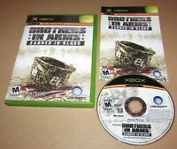Brothers in Arms: Earned in Blood for Microsoft Xbox Complete Fast Shipping