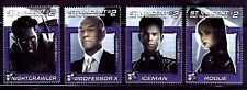 SELLOS  CINE ST. VINCENT OF THE GRENADINES 2003 X MEN 4v. Pr. de HOJA BLOQUE
