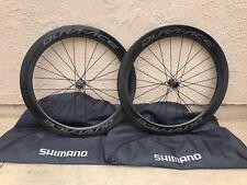 Shimano Dura-Ace 9170 C60 Carbon Tubular Road Wheelset Disc Brake