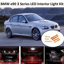 PREMIUM BMW E90 3 Series 04-11 FULL LED LIGHT WHITE INTERIOR KIT WITH TOOL KIT
