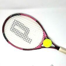 """PINK Prince Wimbledon Sharapova Women's Tennis Racquet Triple threat 4 3/8"""" Grip"""