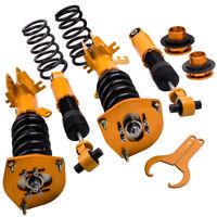 For Nissan Sentra 2007-2012 Front & Rear Coilover Kit 24 Ways Adjustable Damper