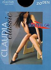 "Classic Tights Sentelegri ""CLAUDIA"" 20 Denier ,Sheer Matt , Available 9 colours"