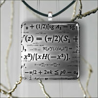 MATH LOVER PENDANT NECKLACE 3 SIZES CHOICE -hdv5Z