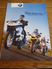 BMW MOTORBIKE RANGE 2003